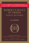Robert's Rules of Order Newly Revised (RONR)